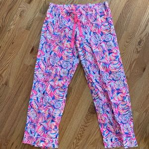 Lilly Pulitzer Printed Pajama Pant SZ XL